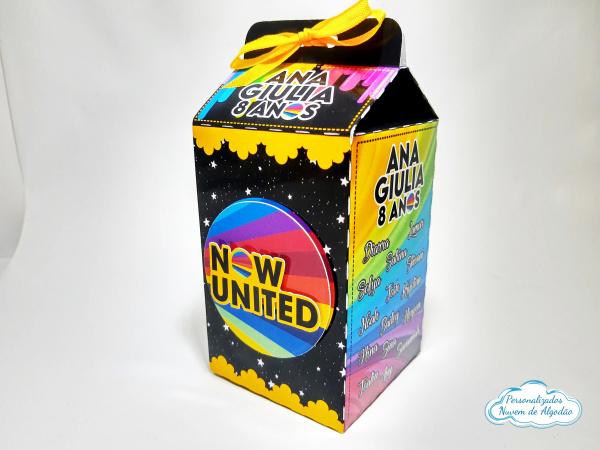 Caixa milk Now United-Caixa milk Now United Fazemos em qualquer tema. Envie nome e idade para personalização.  - Pro