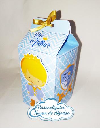 Caixa milk Rei arthur-Caixa milk Rei arthur Fazemos em qualquer tema. Envie nome e idade para personalização.  - Pro