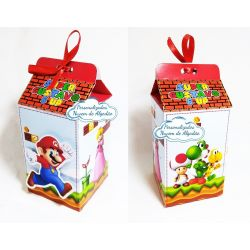Caixa milk Super Mario
