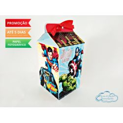 Caixa milk Vingadores