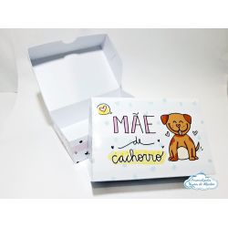 Caixa para 6 docinhos - Dia das mães - Mãe de cachorro