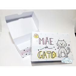 Caixa para 6 docinhos - Dia das mães - Mãe de gato