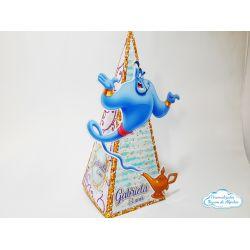 Caixa pirâmide Aladdin