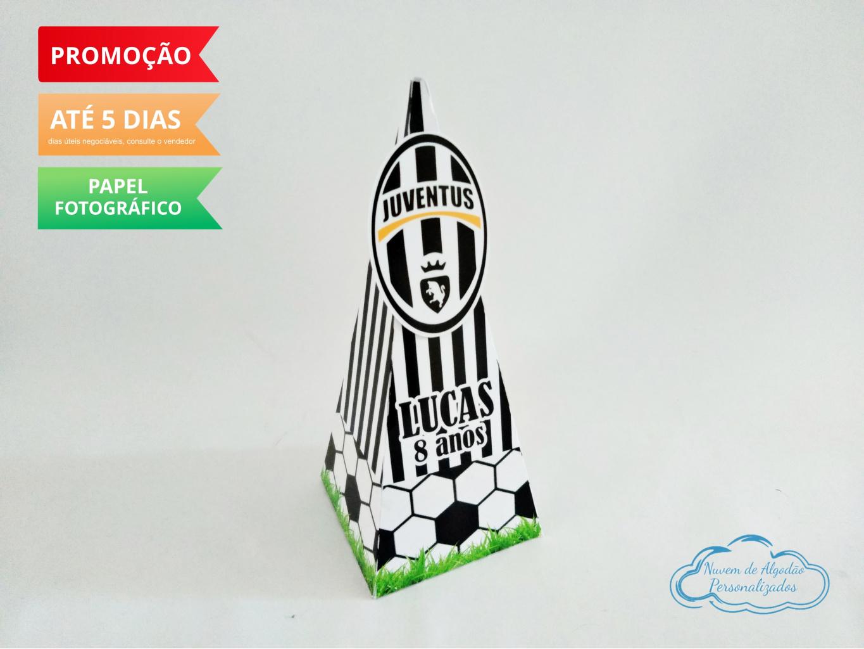 Nuvem de algodão personalizados - Caixa pirâmide Juventus