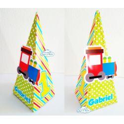 Caixa pirâmide Brinquedos