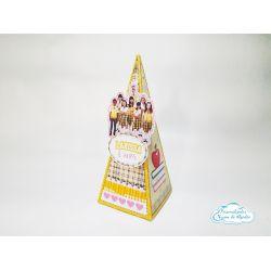 Caixa pirâmide Carrossel