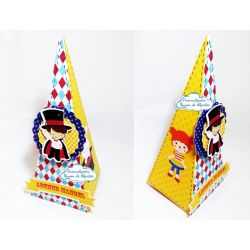 Caixa pirâmide Circo