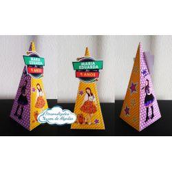 Caixa pirâmide Cúmplices de Um Resgate