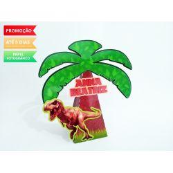 Caixa pirâmide Dinossauro
