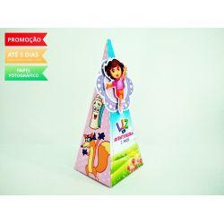 Caixa pirâmide Dora Aventureira