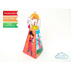 Caixa pirâmide Dragon Ball