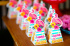 Caixa pirâmide Flamingo-Caixa pirâmide Flamingo com aplique   Fazemos em qualquer tema. Envie nome e idade para personal