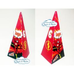 Caixa pirâmide Flash