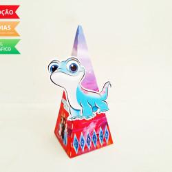Caixa pirâmide Frozen 2 - Espirito do Fogo
