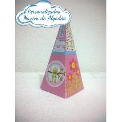 Caixa pirâmide Jardim Encantado