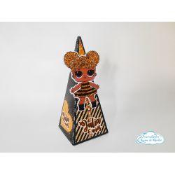 Caixa pirâmide Lol surprise - Queen Bee