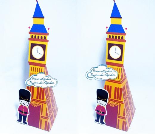Caixa pirâmide Londres-Caixa pirâmide Londres com aplique. Fazemos em qualquer tema. Envie nome e idade para personaliza