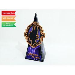 Caixa pirâmide Malévola