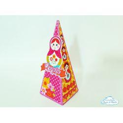 Caixa pirâmide Matrioska