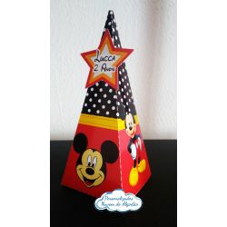Caixa pirâmide Mickey