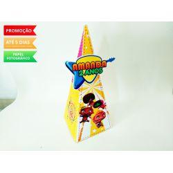 Caixa pirâmide Mini Beats Power Rockers
