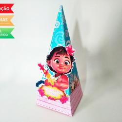 Caixa pirâmide Moana Baby
