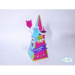 Caixa pirâmide Monstros SA