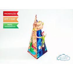 Caixa pirâmide Peter Pan