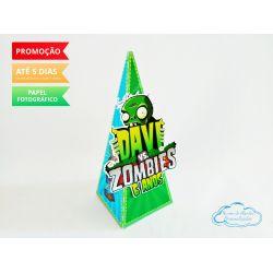 Caixa pirâmide Plantas vs Zumbis