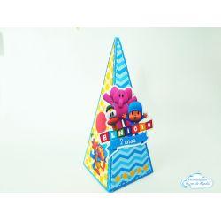 Caixa pirâmide Pocoyo