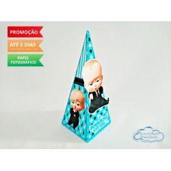 Caixa pirâmide Poderoso Chefinho