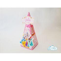 Caixa pirâmide Princesas