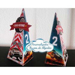 Caixa pirâmide Rally de Carros
