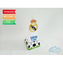 Caixa pirâmide Real Madrid