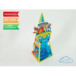Caixa pirâmide Scooby doo