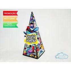 Caixa pirâmide Skate