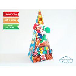 Caixa pirâmide Super Mario