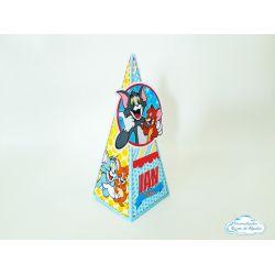 Caixa pirâmide Tom e Jerry
