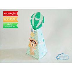 Caixa pirâmide Ursinho Baloeiro
