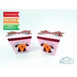 Caixa sushi Cachorrinhos laço