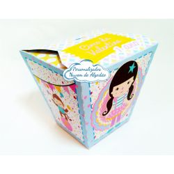 Caixa sushi Circo Menina