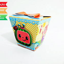 Caixa sushi Cocomelon laço