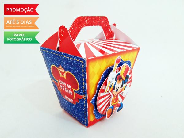 Caixa sushi com alça Circo do Mickey-Caixa Sushi com alça Circo do Mickey Fazemos em qualquer tema. Envie nome e idade para personaliz