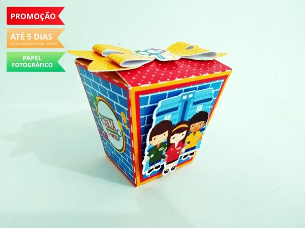 Caixa sushi D.P.A laço-Caixa Sushi D.P.A laço Fazemos em qualquer tema. Envie nome e idade para personalização.  - P