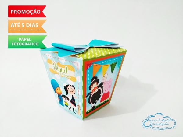 Caixa sushi Discovery Kids laço-Caixa Sushi Discovery Kids laço Fazemos em qualquer tema. Envie nome e idade para personalizaçã