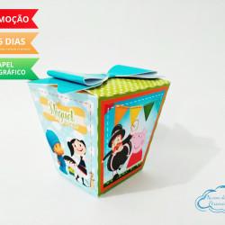 Caixa sushi Discovery Kids laço