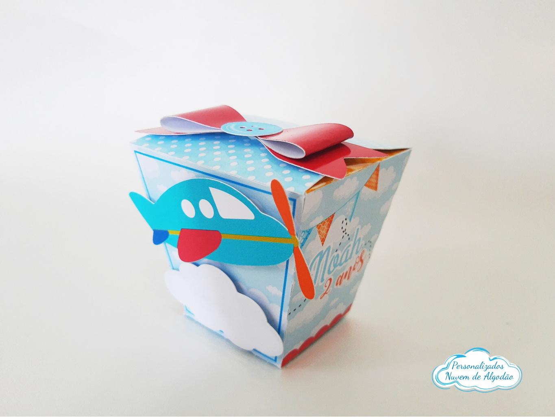 Nuvem de algodão personalizados - Caixa sushi Meios de transporte laço