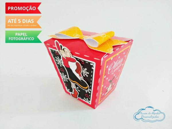 Caixa sushi Olivia Palito laço-Caixa Sushi Olivia Palito laço Fazemos em qualquer tema. Envie nome e idade para personalização
