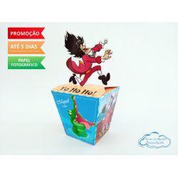 Caixa sushi Peter Pan Capitão Gancho