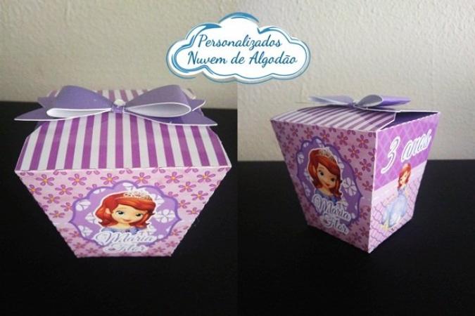 Caixa sushi Princesa Sofia laço-Caixa Sushi Princesa Sofia laço Fazemos em qualquer tema. Envie nome e idade para personalizaçã